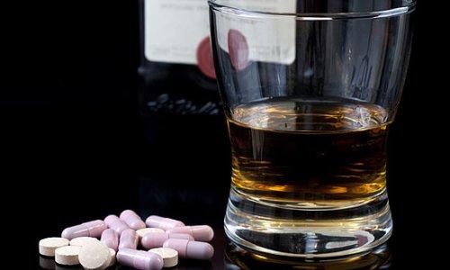 Алкоголь и препараты