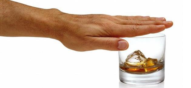 Отказ от принятия алкогольных напитков