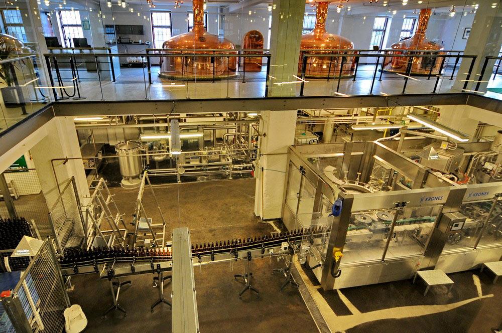 Линяи производства современного пива