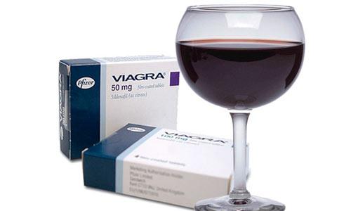 Виагра совместимость с алкоголем