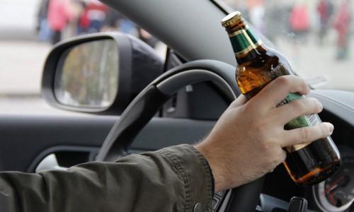 Безалкогольный напиток за рулем