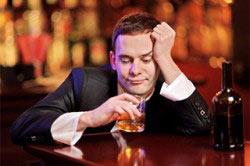 Алкоголизм приводит к депрессии
