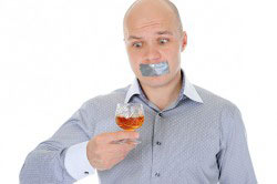 Результат кодирования - отвращение к алкоголю