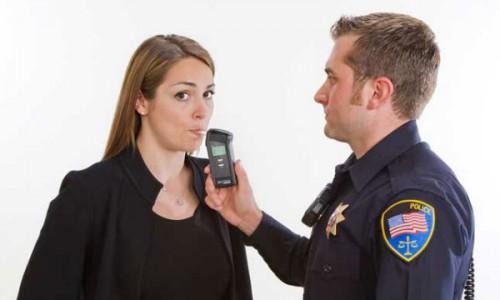 Процедура измерения содержания алкоголя в выдыхаемом воздухе