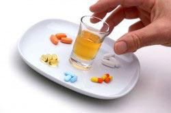 Вред лекарств в сочетании с алкаголем