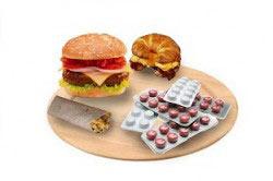 Прием лекарства после еды