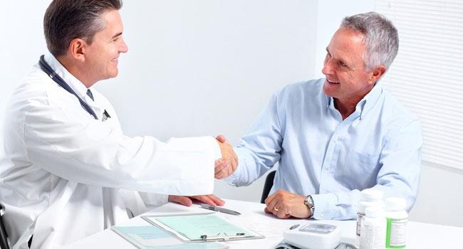 Обращение за консультацией к врачу