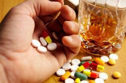 Нежелательное смешивание алкоголя и Фосфоглива