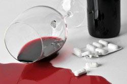 Несовместимость вобэнзима и алкоголя