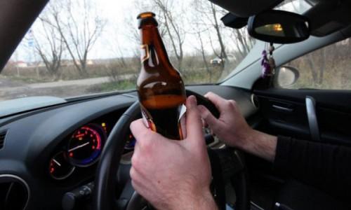 Пьянство за рулем автомобиля
