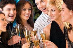 Первая стадия алкоголизма - употребление спиртного для расслабления