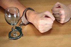 Сильная алкогольная зависимость