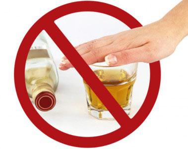 Запрет на алкоголь во время вакцинации