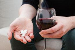 Совмещение алкоголя Анаприлина