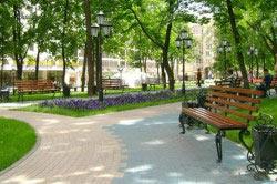Парки и скверы - общественные места