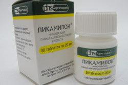 """Препарат """"Пикамилон"""" в таблетках при лечении алкоголизма"""