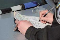 Оформление протокола на пьяного водителя