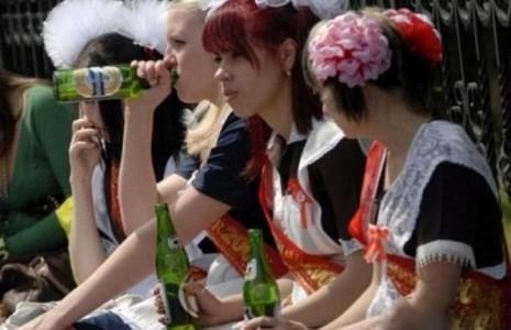 Пьющие школьники