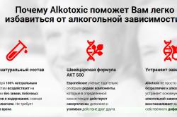 Эффективность средства Алкотоксик